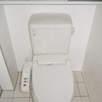 アメセパなのでトイレも広々。※写真は前回募集時のもの。