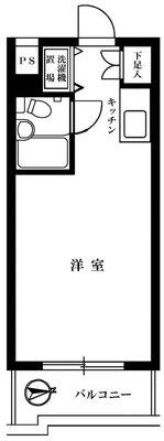 TOP武蔵新田NO1 の間取り