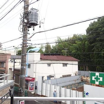 眺望はこちら。消防署ができるみたいです。