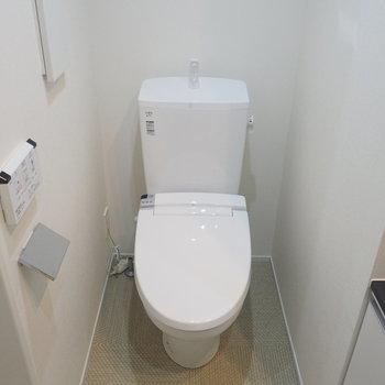 トイレはもちろんウォシュレット付き※写真は前回募集時のものです