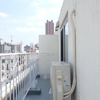 天気の良い日はこちらから東京タワーが見えます!