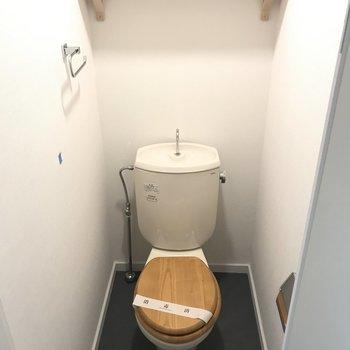 この家賃でバストイレ別&木製便座※前回募集時の写真です