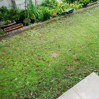 小庭スペースもありますよ!※前回募集時の写真です