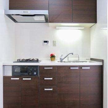 キッチンの色も合ってます ※写真は前回掲載時のものです。