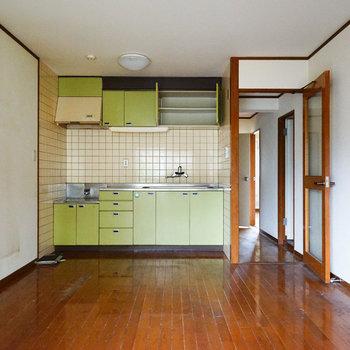 キッチンはもちろん新品になります※写真は工事前です