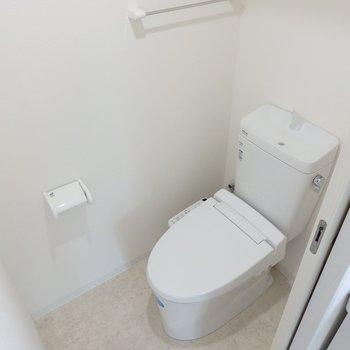 トイレにはウォシュレットが※写真は前回募集時のもの
