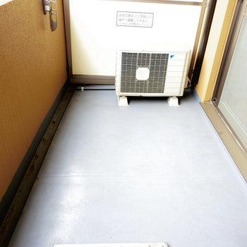 ひろーーいバルコニー※写真は10階の反転間取り別部屋のものです