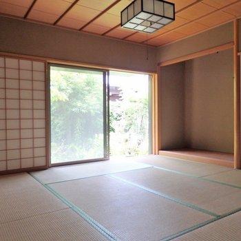 和室も本格的です。