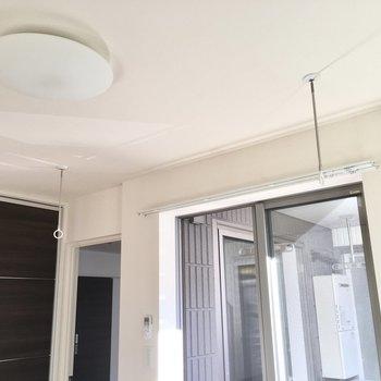 室内物干しはこのお部屋で出来ます。