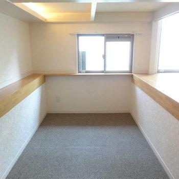下の空間も結構広いです。※写真は別室です。