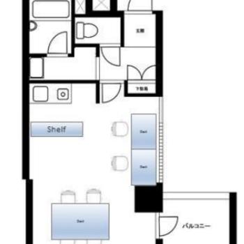 1~2人用の空間