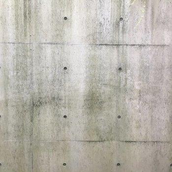 眺望はコンクリート