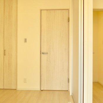 2階のお部屋に