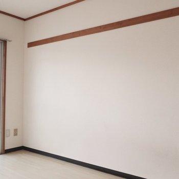 長押(なげし)には好みのものを飾りましょ♩※写真は3階の反転間取り別部屋のものです