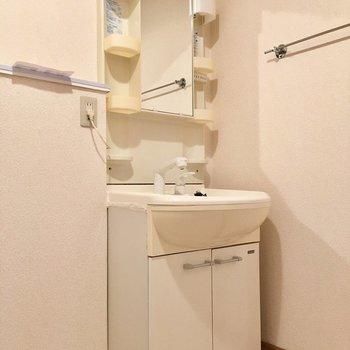 洗面台は至って普通です!