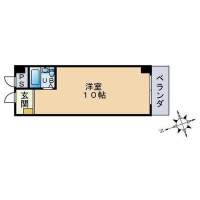 ルネッサンス21箱崎 の間取り