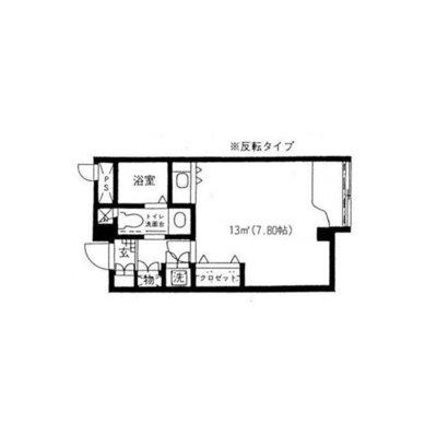原宿東急アパートメント の間取り