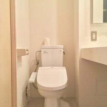 清潔感バッチリ◎※写真は5階の反転間取り別部屋のものです。