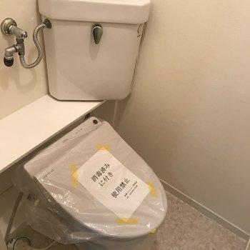 トイレも独立
