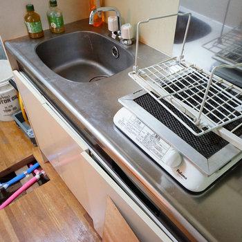 キッチンはIHです!※写真は工事前です