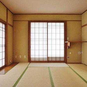 こっちは10帖の和室。※写真は前回募集時のものです
