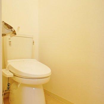 トイレも個室です※写真は前回募集時のものです