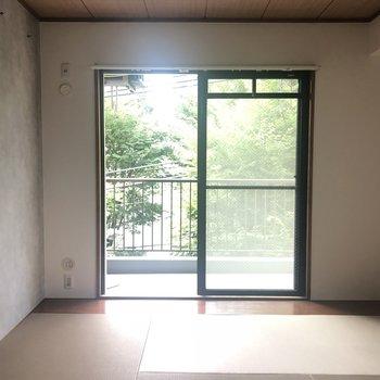 暖かい日差しを浴びながらお昼寝・・※405号室のお写真です