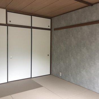 灰色のアクセントクロスが可愛い※405号室のお写真です