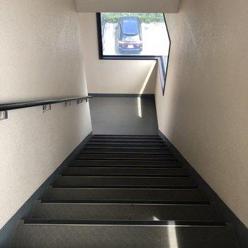 共用部の階段です。