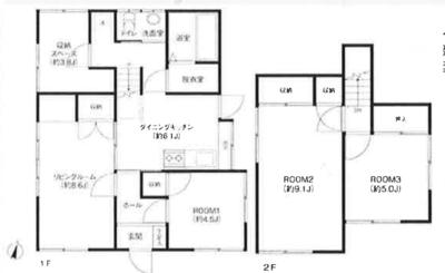 JAPANESE HOUSE の間取り