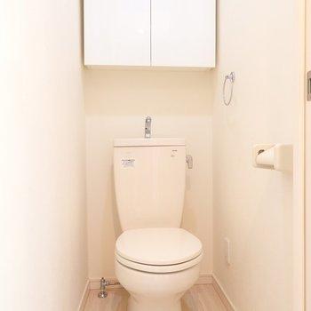 トイレの棚がとっても便利