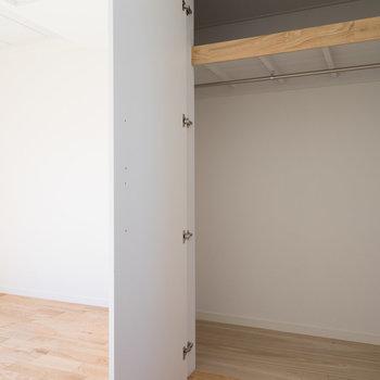 収納もかなりの容量!※写真は別室です