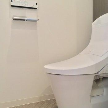 清潔感のあるトイレはもちろん個室◎