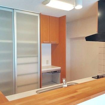 棚や冷蔵庫スペースもバッチリ