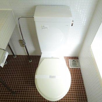 おトイレ開放感※写真は別部屋