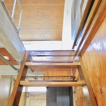 2階部分に行きます!