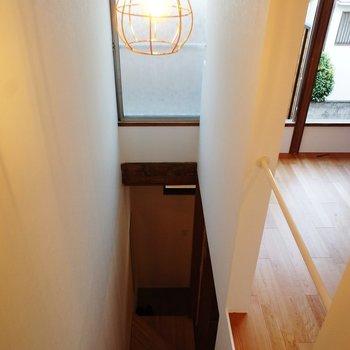 一階へ行きましょう