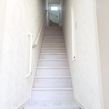 こちらが1階からの光景。ワクワクしません?※写真は別部屋