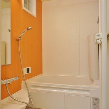 お風呂もオレンジ!