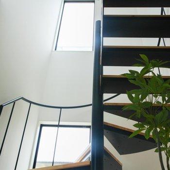 きれいなデザインの階段
