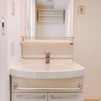 水回りはこちらから。独立洗面台。