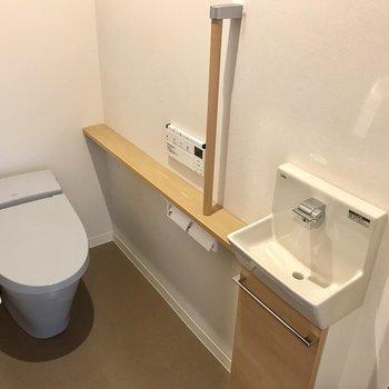 お店のトイレみたい
