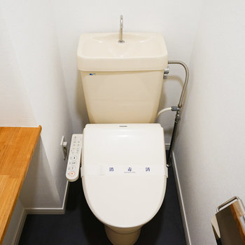 ウォシュレット付きのトイレ♪