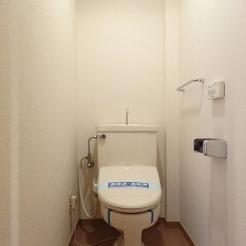 トイレはシュッとしてスマート。※写真は前回募集時のものです