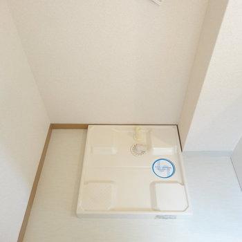 洗濯機はお隣へ。※写真は前回募集時のものです