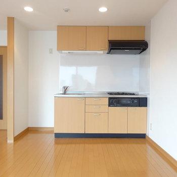 キッチンはどんな感じかな。※写真は前回募集時のものです