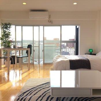 家具を置くとこんな感じ※写真は別部屋です