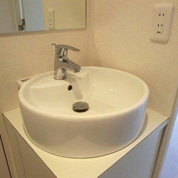 洗面器もかわいい。※写真は前回募集時のものです