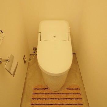 トイレはシンプル~