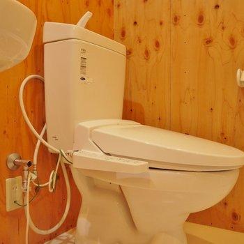 トイレももちろんウォシュレット付!。※写真は前回撮影時のもの。※写真は前回撮影時のもの